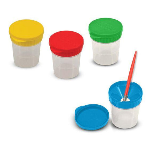 1623 Spill-proof Paint Cups 3+