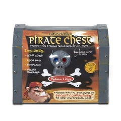 2576 Wooden Pirate Chest 6+