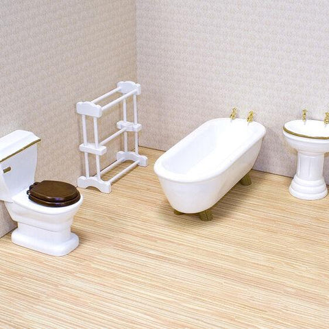 2584 Bathroom Furniture Set 6+