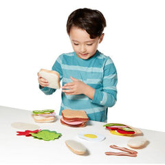 3954 Felt Play Food - Sandwich Set 3+