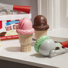 4087 Scoop & Stack Ice Cream Cone Playset 3+