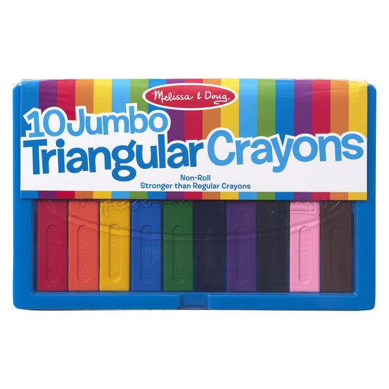4148 Jumbo Triangular Crayons 3+
