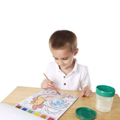 4165 Farm Animals Paint with Water Kids' Art Pad 3+