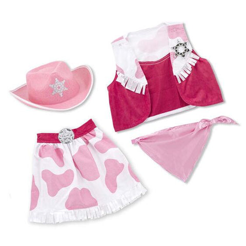 4272 Cowgirl Role Play Costume Set 3-6