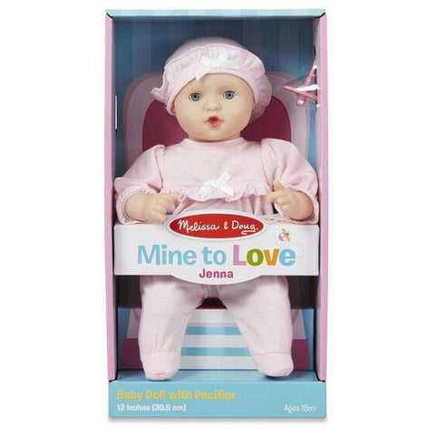 "4881 Mine to Love - Jenna 12"" Baby Doll 18+ Months"
