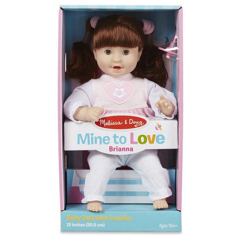 "4883 Mine to Love - Jenna 12"" Baby Doll 18+ Months"