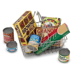 5171 Let's Play House! Grocery Basket with Play Food 3+