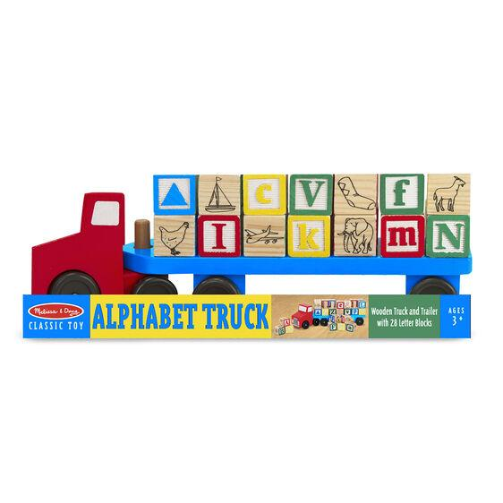 5175 Alphabet Blocks Wooden Truck 3+