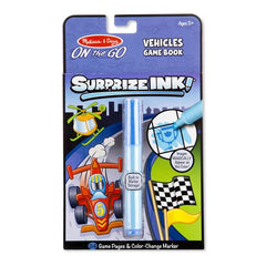5286 Surprize Ink! Vehicles - On the Go Travel Activity Book 5+