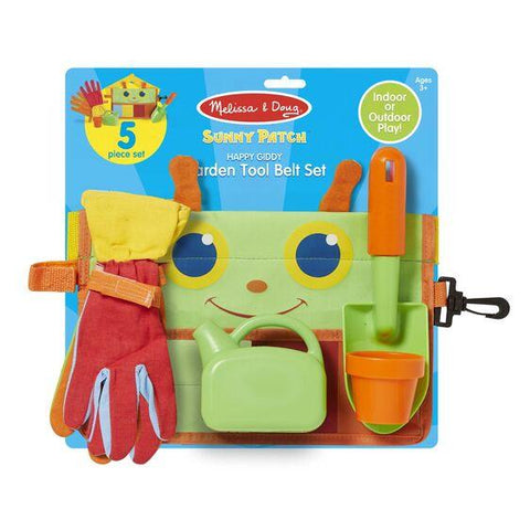6215 Happy Giddy Garden Tool Belt Set 3+