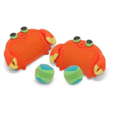 6425 Clicker Crab Toss & Grip Game for Kids 3+