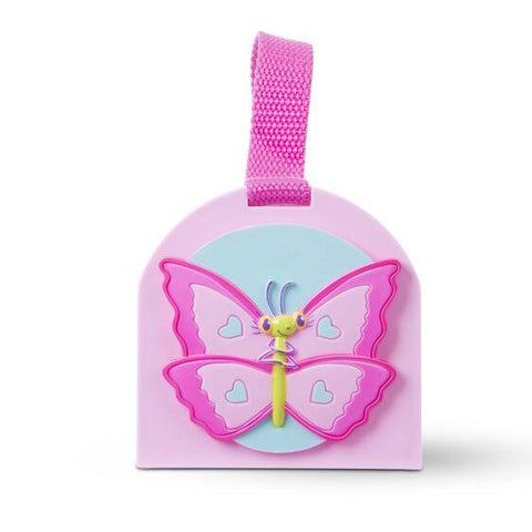 6704 Cutie Pie Butterfly Bug House 3+