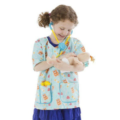8519 Pediatric Nurse Role Play Costume Set 3-6
