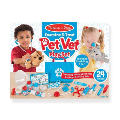 8520 Examine & Treat Pet Vet Play Set 3+
