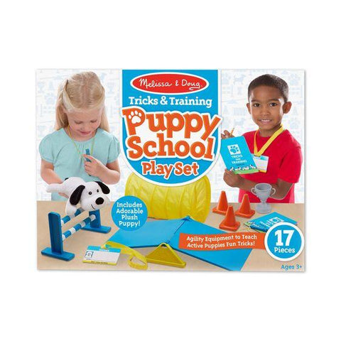 8540 Tricks & Training Puppy School Play Set 3+