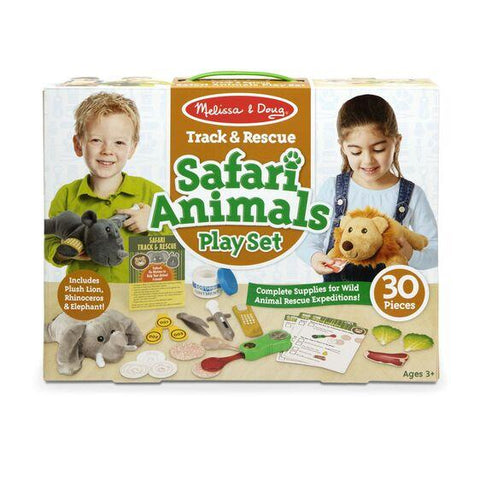 8543 Track & Rescue Safari Animals Play Set 3+