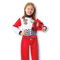 8552 Race Car Driver Role Play Costume Set 3-6