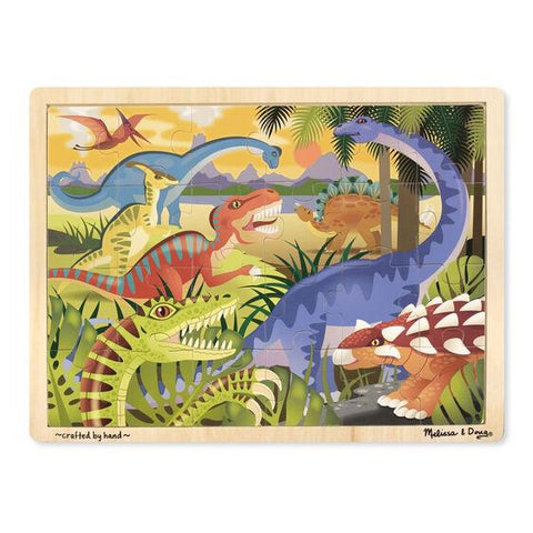 9066 Dinosaur Wooden Jigsaw Puzzle - 24 Pieces 3+