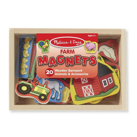 9279 Wooden Farm Magnets 2+