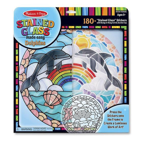 9291 Stained Glass Made Easy - Dolphins 5+