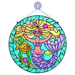 9292 Stained Glass Made Easy - Mermaid 5+