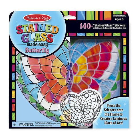9295 Stained Glass Made Easy - Butterfly 5+