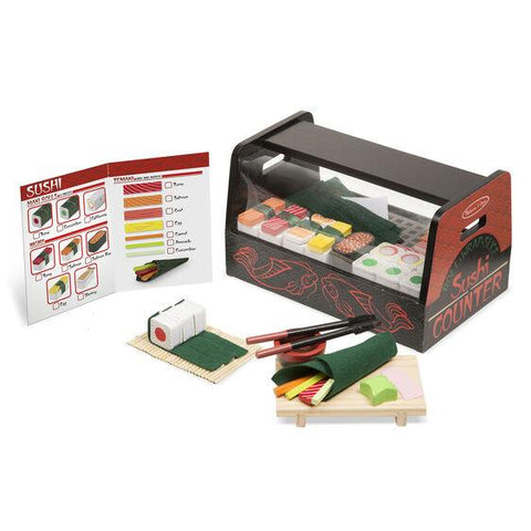 9305 Roll, Wrap & Slice Sushi Counter 3+