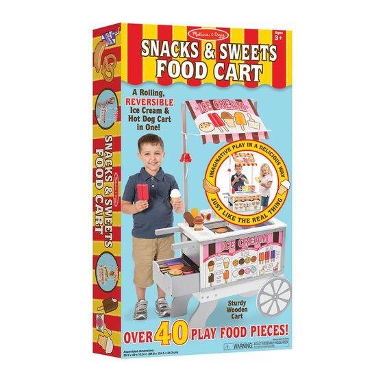 9350 Snacks & Sweets Food Cart 3+