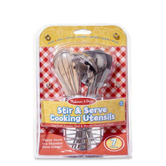 9351 Let's Play House! Stir & Serve Cooking Utensils 3+