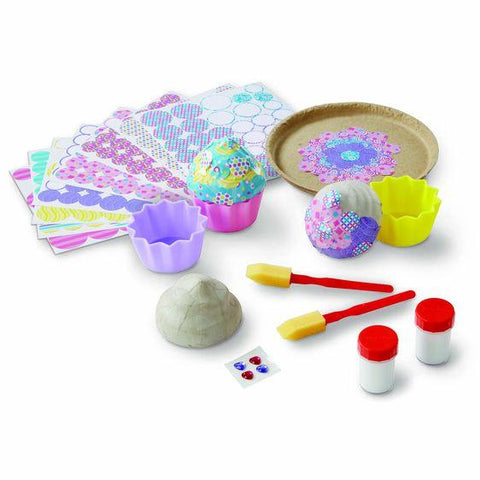 30108 Decoupage Made Easy Deluxe Craft Set - Cupcakes 6+