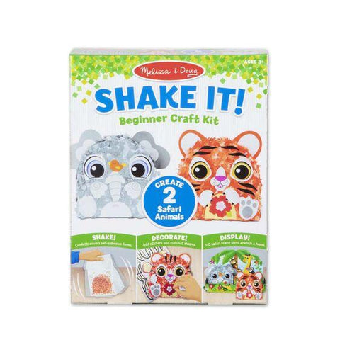 30182 Shake It! Safari Animals Beginner Craft Kit 3+