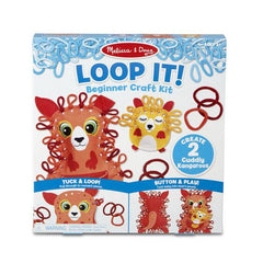30188 Loop It! Cuddly Kangaroos Beginner Craft Kit 3+