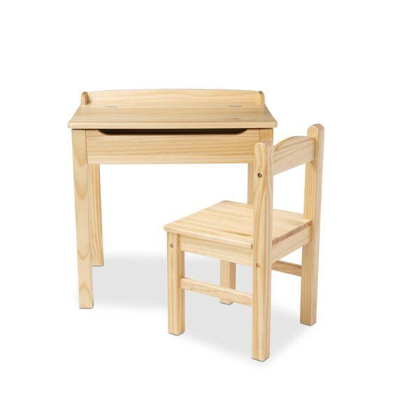 30230 Child's Lift-Top Desk & Chair - Honey
