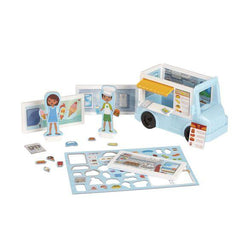 30655 Magnetivity Magnetic Building Play Set - Hospital 4+
