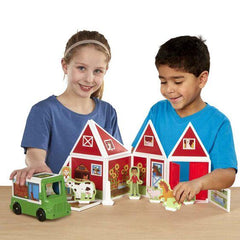 30656 Magnetivity Magnetic Building Play Set - On the Farm 4+