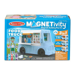 30665 Magnetivity Magnetic Building Play Set - Food Truck 4+