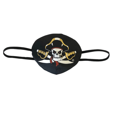 PIRATE EYE PATCH CAPTAIN CROSS