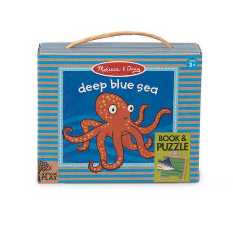 31246 NP Book and Puzzle - Deep Blue Sea