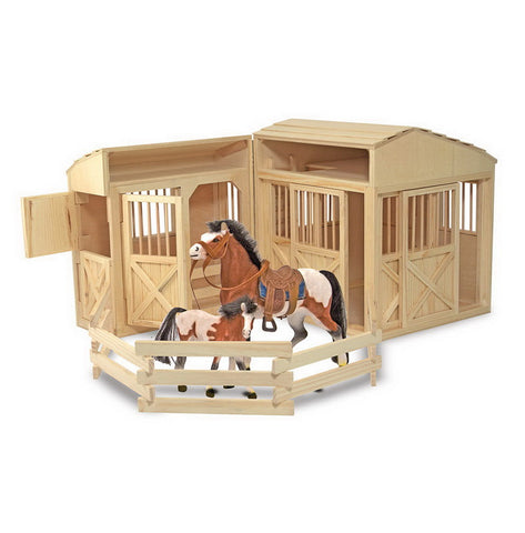 785 Folding Horse Stable