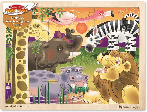 2937 African Plains Jigsaw (24 pc)