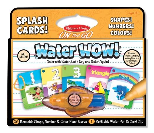 5237 Water Wow! - Splash Cards Shapes, Numbers
