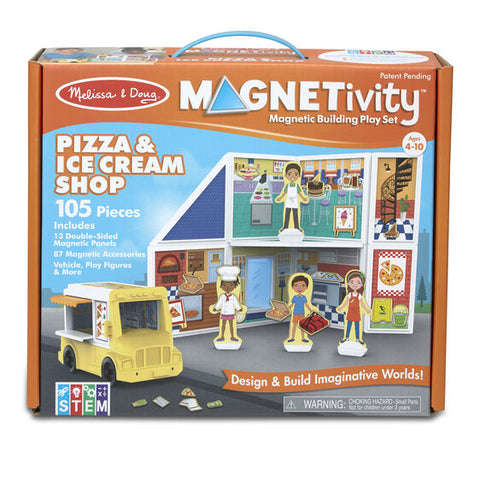 30658 Magnetivity - Pizza & Ice Cream Shop
