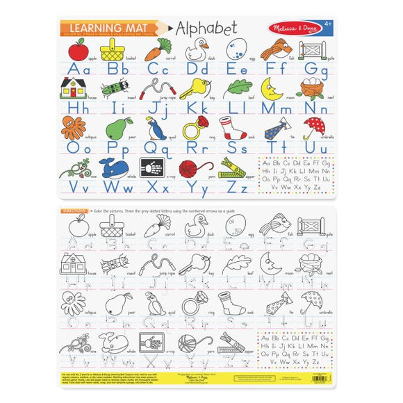 5028 Alphabet Write-A-Mat-3+years