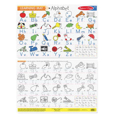 5028 Alphabet Write-A-Mat (Bundle of 6)
