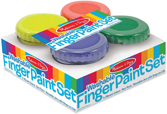 4146 Finger Paint Set (4 colors)- 3+years