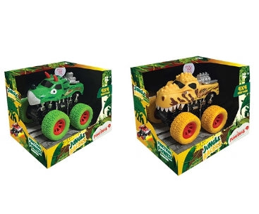 Jungle Racers Dinosaur Friction 4x4 Truck with Sound