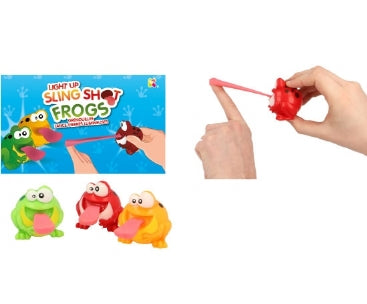 Light Up SlingShot Frogs - Fumfings Animals Frogs 7+ Unisex