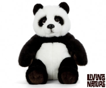 Living Nature Panda Sitting - Living Nature - Fluffy Animals Panda 7+ Unisex