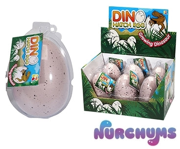 NURCHUMS™ Large Dino Hatching Egg 7+