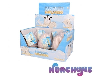 NURCHUMS™ Large Penguin Hatching Egg